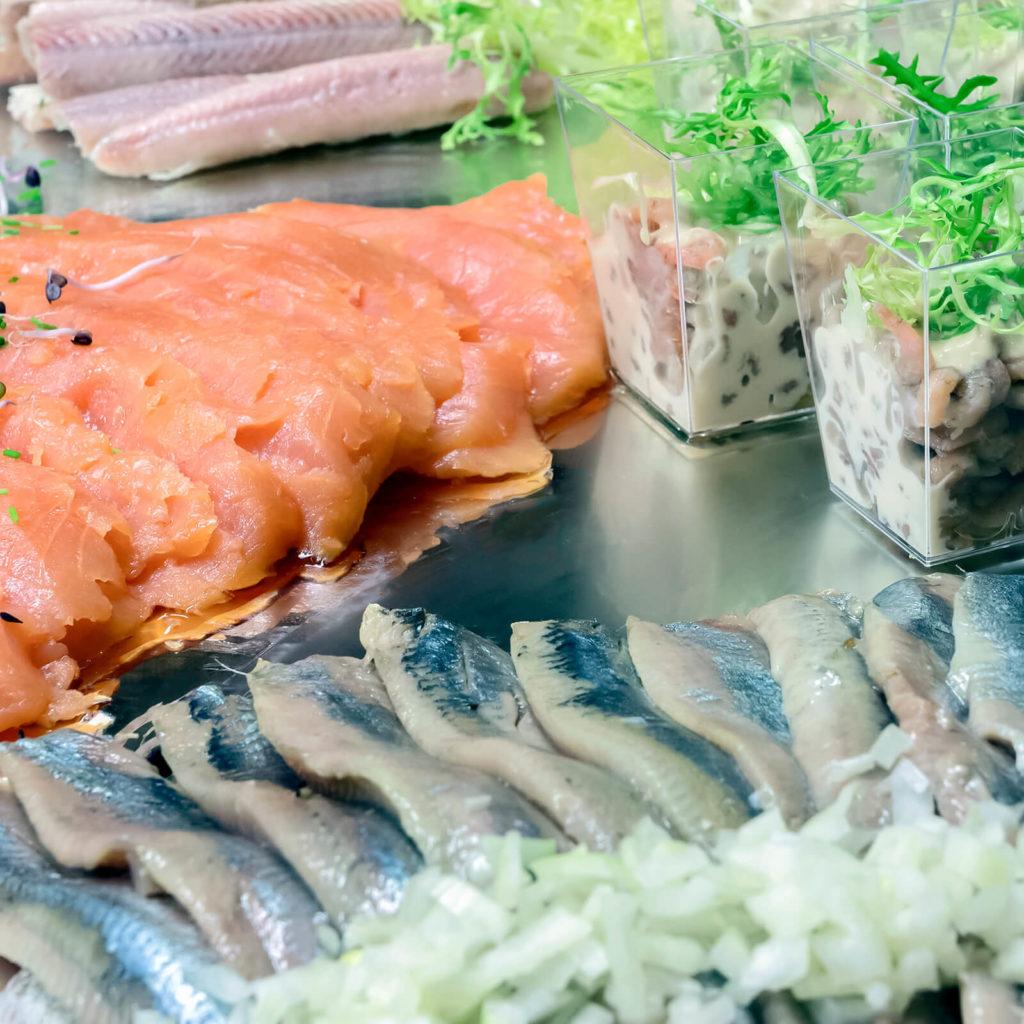 Vis en catering gaan goed samen!